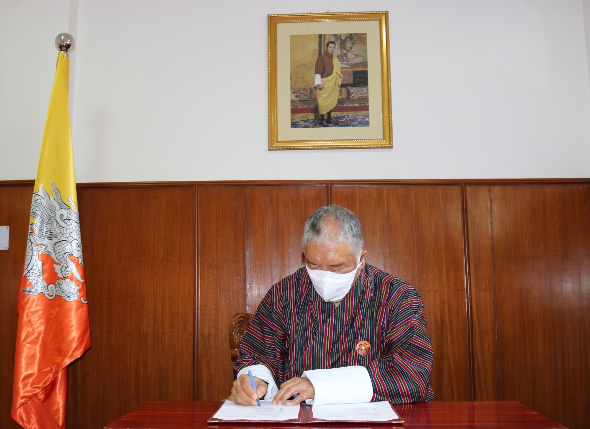 Ambassador of Bhutan