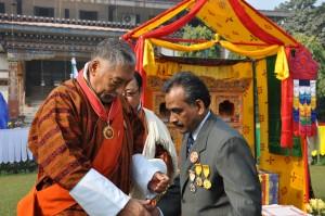 award for Mr. P. Mohanan on 17th December 2015