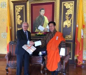 Dutch Ambassador Meets FM