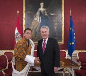 Botschafter des Königreiches Bhutan, Kinga Singye