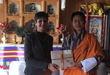 Australian Ambassador to Bhutan calls on the Foreign Minister